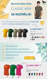 Nové barvy Clasic New