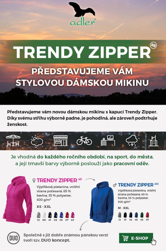 Adler Trendy Zipper