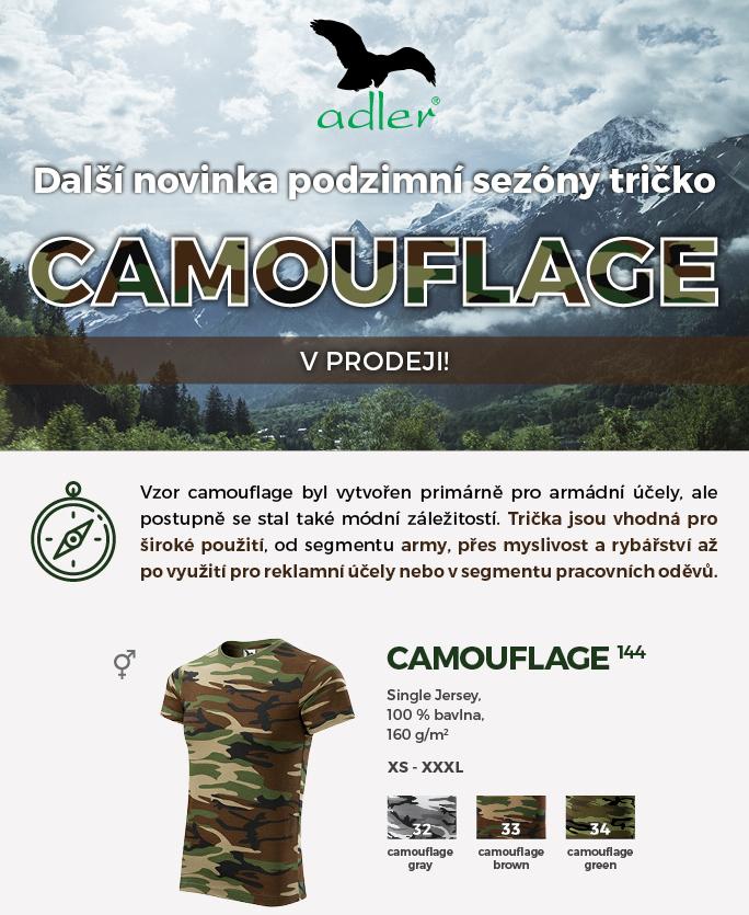 Tričko Camouflage 2015